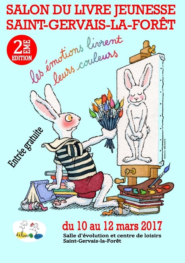 Salon livre jeunesse st gervais la for t du 10 au 12 mars 2017 snuipp fsu du loir et cher - La table du cuisinier saint gervais la foret ...
